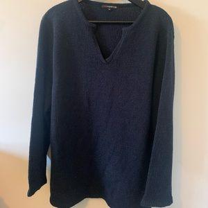 2/$18 Lightweight/ / Navy / Sweater